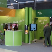 Island exhibition stands
