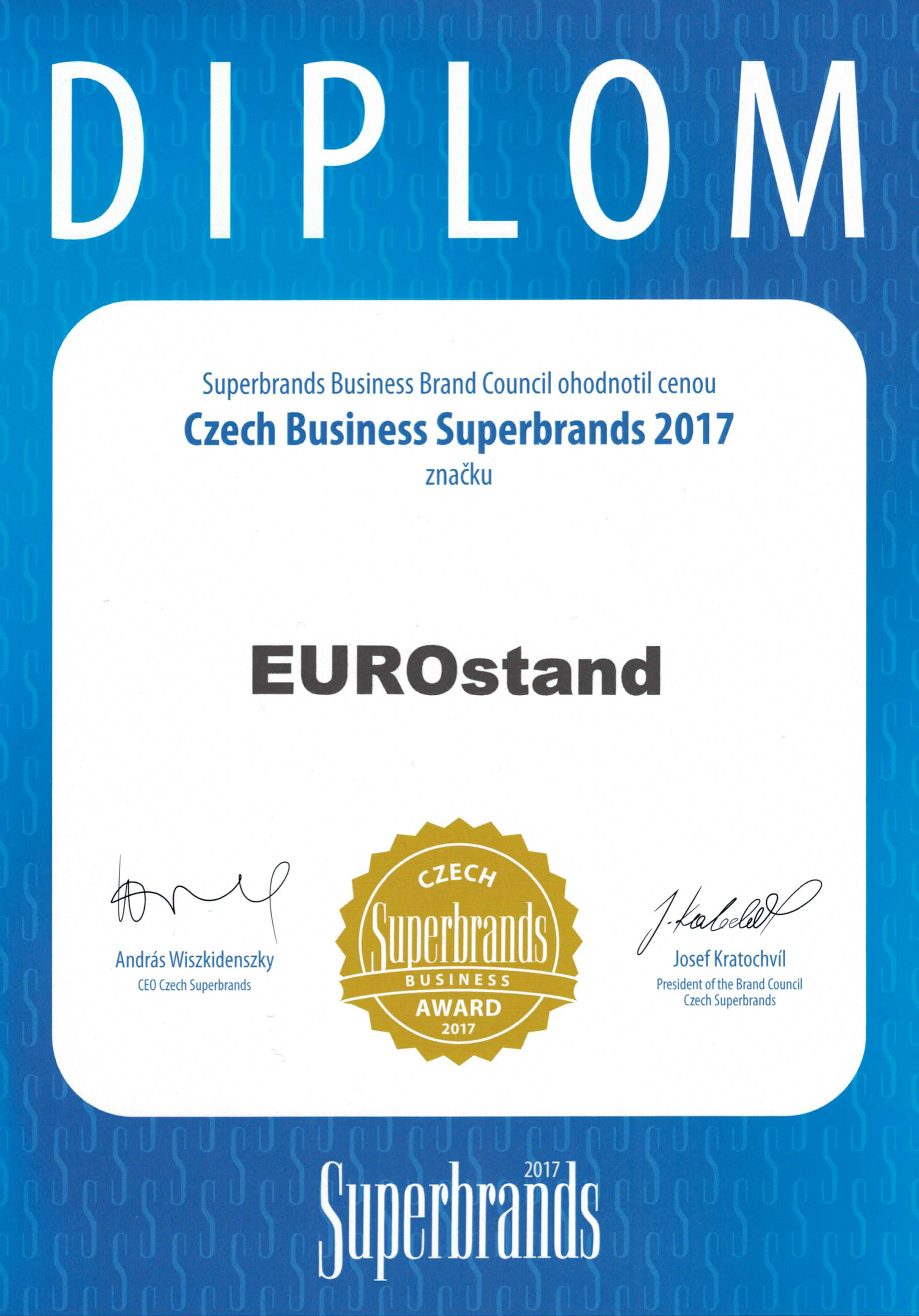 EUROstand Starts the New Year with the Business Superbrands